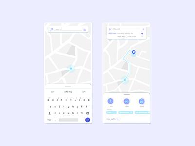 Daily UI 20 - Location tracker appdesign icons app uidesign design uxui ui dailyui