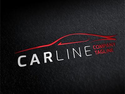 Logo Car Line brand car corporate identity logo
