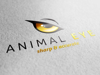 Animal Eye Logo Template