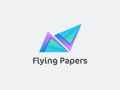 Flying Papers Logo Design
