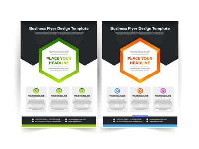 Flyer Design gradient color logo flyer template flyer artwork flyer design flyer