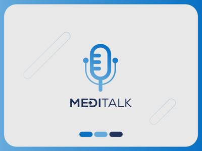 Medical Logo Template - MediTalk medicines medicine logo icon design iconography icon medicine talk logo clinic logo logodesign medical logo template medical logo medical