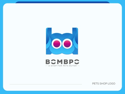 Pets Logo Branding | B Letter Logo brand identity pets shop logo pets logo b letter logo b creative logo