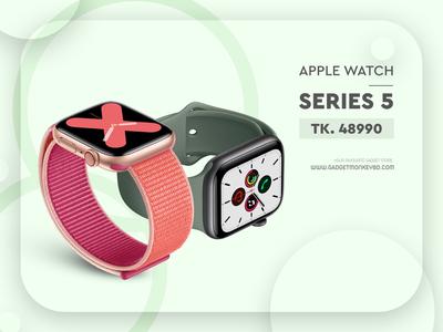 Apple Watch 5 Flyer Design