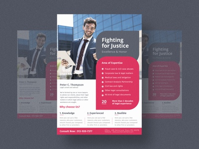 LAW FLYER DESIGN