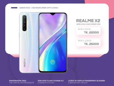 Realme X2 Banner