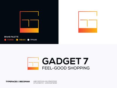 Gadget 7 Logo Redesign | G7 Lettter Logo