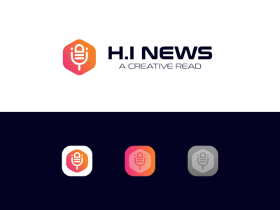 H.I NEWS LOGO DESIGN