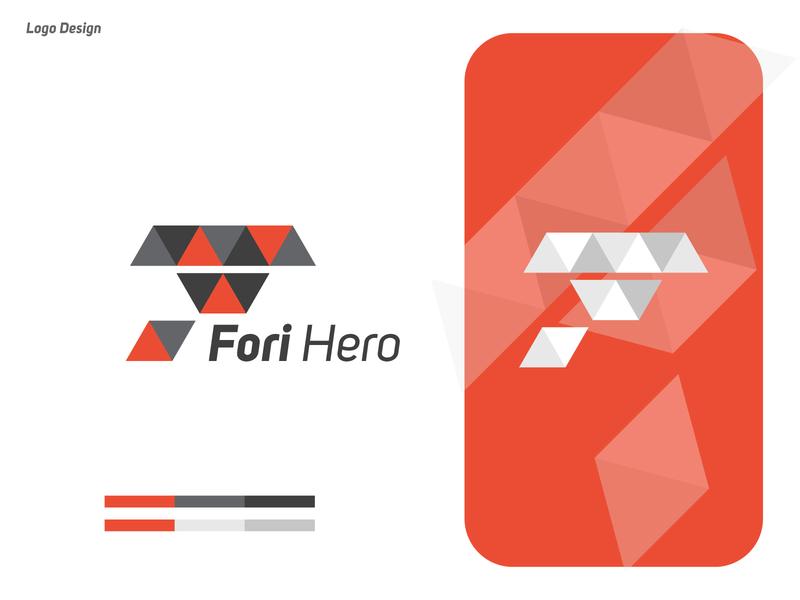 LOGO DESIGN - FORI HERO | F LETTER LOGO