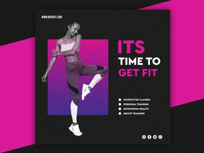 Gym Poster Designs Themes Templates And Downloadable Graphic Elements On Dribbble