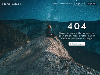 404 Error Page ux  ui typography error page design 404 page