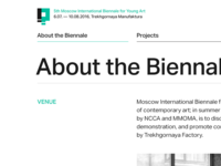 5th Moscow International Biennale for Young Art