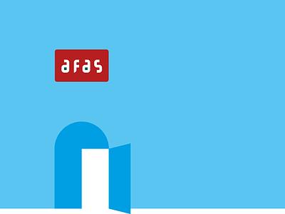 Afas brand coprorate identity graphic design