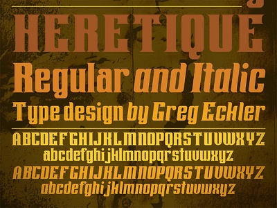 Heretique typeface type design letters heretique