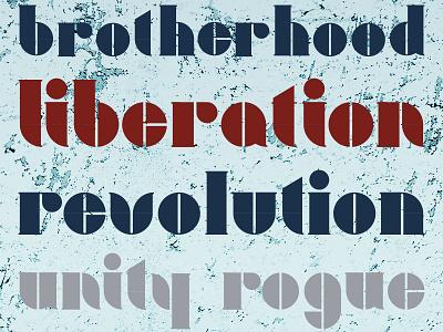 Liberti typeface type design letters liberti