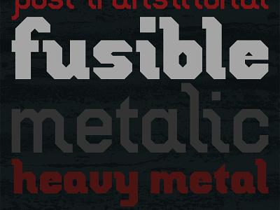 Indium typeface type design letters indium