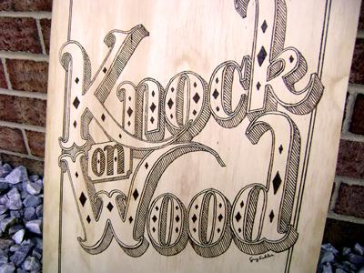 Knockonwood dribbble