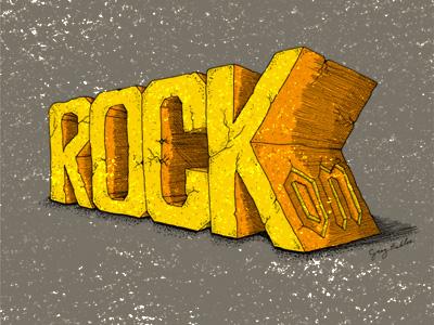Rockon dribbble