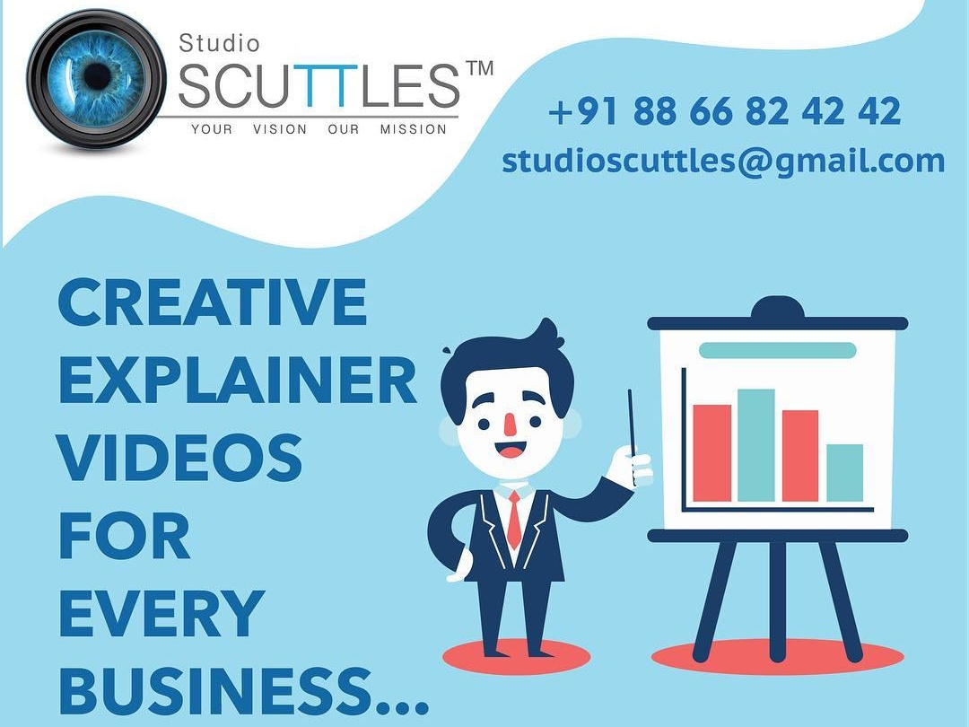 Animated Explainer Video Production Company icon typography characteranimation rebounds ui ux logo animationvideo animationstudio animationdesign animation 2d vector illustration branding animation studioscuttles motion graphics animate gif design