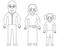 Family Line Illustration