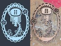 Jellyfish Laser Cut