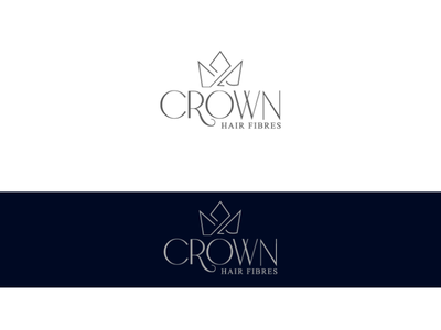 Crown hair fiber - Logo Design