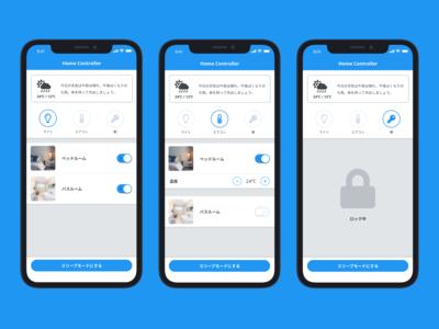 DailyUI #021: Home Monitoring Dashboard