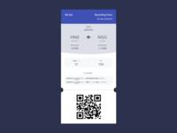DailyUI#024: Boarding Pass