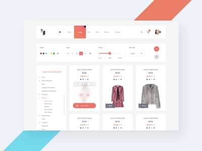 AVIN - Products screen light version ecommerce template ecommerce shop ecommerce design ecommerce application site user experience simple creative template download web webdesign user interface interaction sketch concept ux design ui
