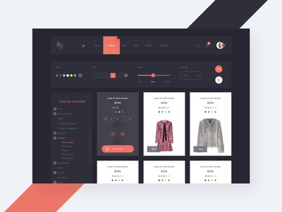 AVIN - Products Screen ecommerce ecommerce template ecommerce design ecommerce shop ecommerce app simple user experience sketch template download design concept web webdesign user interface interaction ux ui