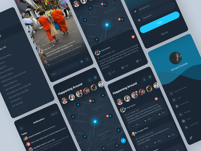 Twitter Redesign redesign user experience application user interface interaction sketch concept design ux ui