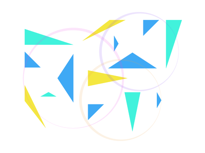 Abstraction • 1 experiment illustration art triangle abstract