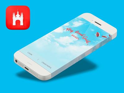 App: MyLocalGuide Splash