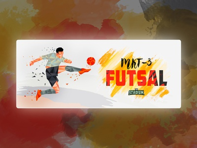 Futsal-Event cover design