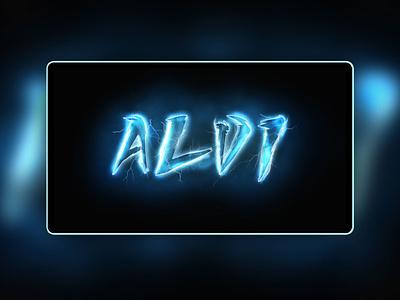 Lightning Typography Design