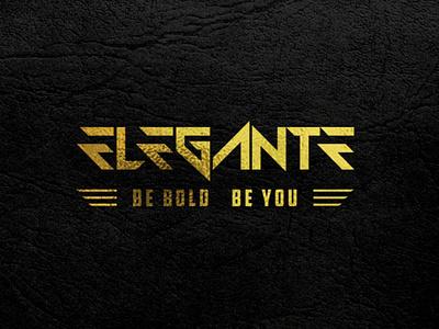Elegante Typography Logo