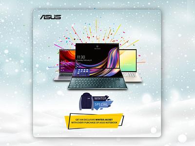 ASUS- Winter Campaign Social Media Design