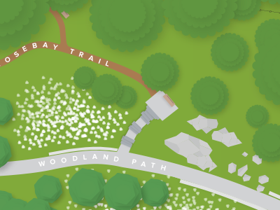 Botanical Garden Map 2