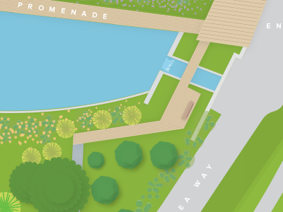 Botanical Garden Map 3