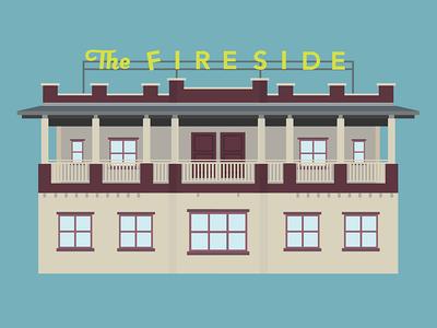 San Francisco Motel illustration