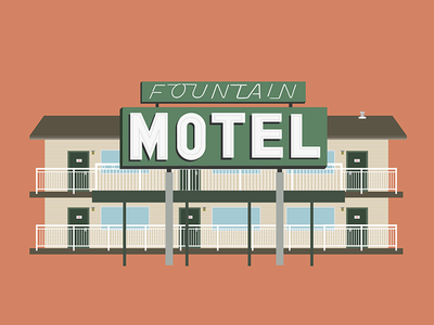 San Francisco Motel illustration 2