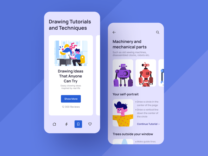 Drawing Application ios typography branding mobile minimal icon graphic design art ui design sketch ux clean application illustration flat figma design character ui app