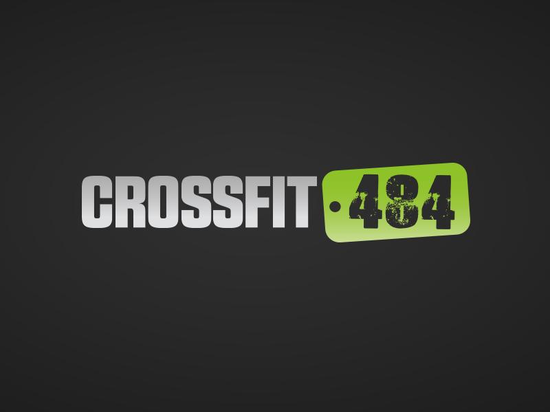 CrossFit 484 logo concept dark green black