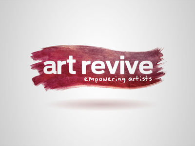 Art Revive Logo logo typography branding brand design art artists