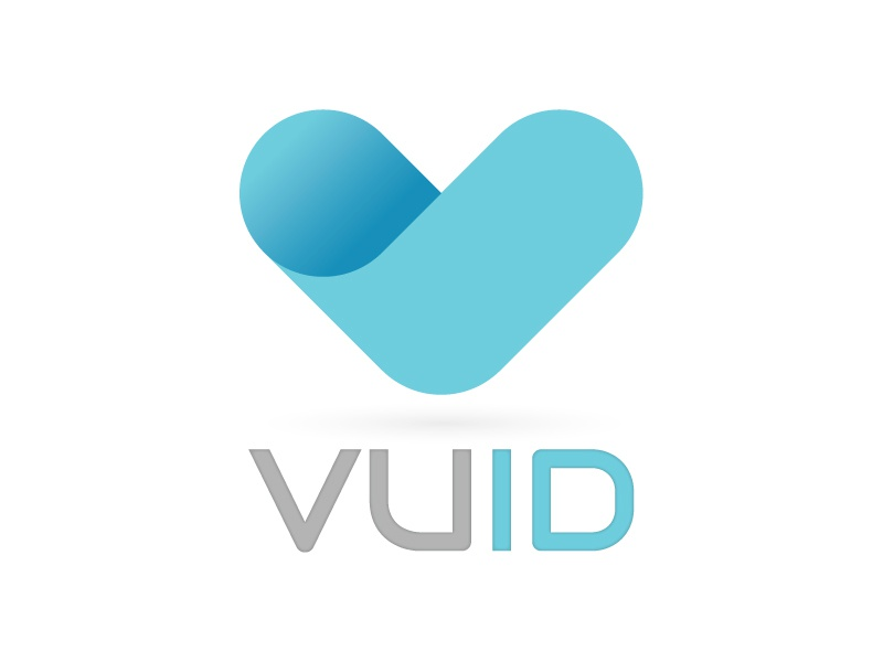 VUID Logo logo typography branding icon icons iconography brand type flat flat design