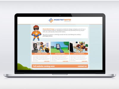 Coming Soon Page web design ux ui branding design