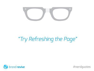 #nerdquotes campaign