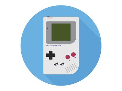 Gameboy Icon  gameboy nintendo flat design flat icon flat icon pokemon zelda mario