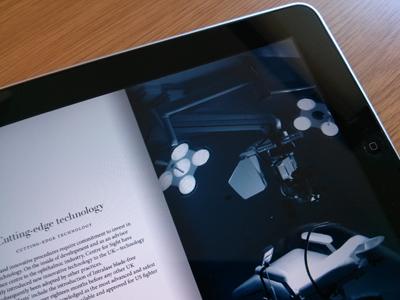 Tablet Application - Digital Brochures by Paul Middleton | Dribbble
