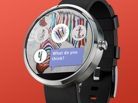 Ynk - Android wear